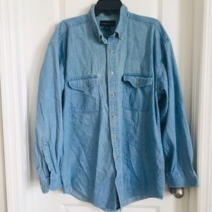 Croft & Barrow men Denim Shirt size medium